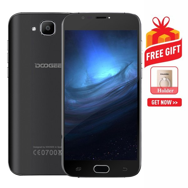 DOOGEE X9 mini 1GB+8GB DTouch Fingerprint 5.0 inch 2.5D Android 6.0 MTK6580 64-Bit Quad Core 1.3GHz to 1.5GHz Network: 3G BT WiFi GPS