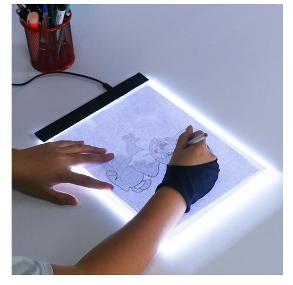 best selling Dimmable ! Ultrathin A4 LED Light Tablet Pad Apply to EU UK AU US USB Plug Diamond Embroidery Diamond Painting Cross Stitch Kits