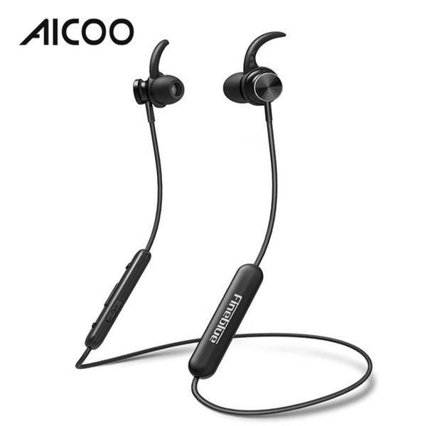 AICOO Mate 10 magnético inalámbrico Bluetooth V4.1 para auriculares Auricular universal en la oreja Auriculares Estéreo Deportes Auriculares Paquete al por menor