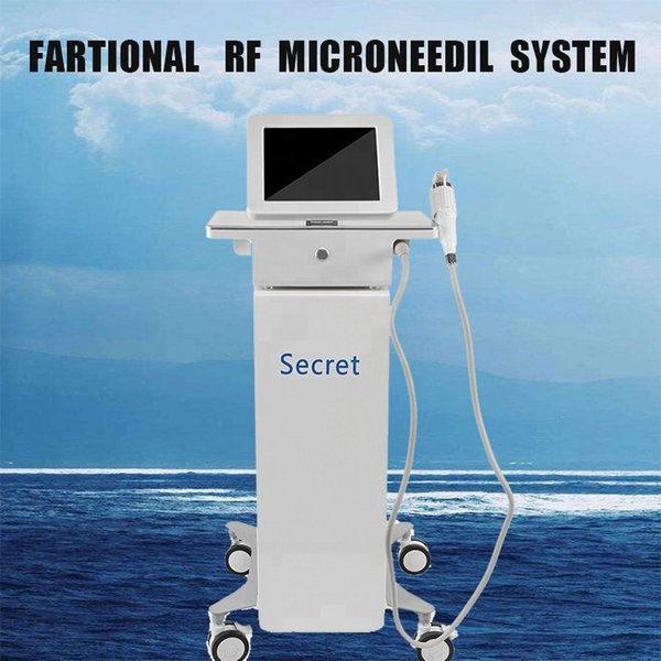High quality Non-surgical Face Lifting Microneedle RF Radio Frequency Beauty Machine for wrinkle removal and face tightening and lifting