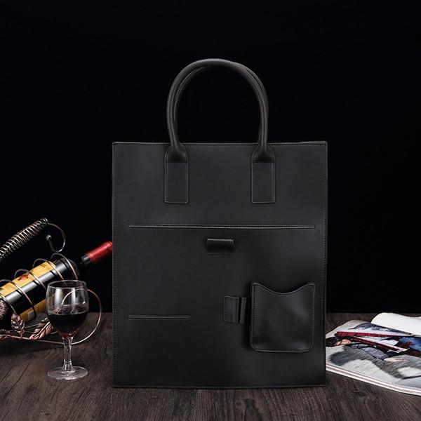 Nuovo sacchetto degli uomini, borsa, stile verticale, sacchetto degli uomini, affari una spalla, il sacchetto di straddle diagonale