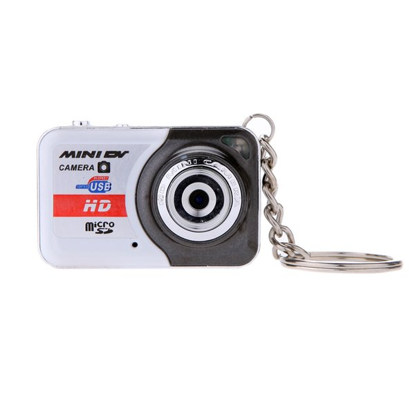Portable X6 Digital Camera Ultra HD Mini Camera 32GB TF Card w/Mic Digital Video Camera PC DV Camcorder Shooting Recording