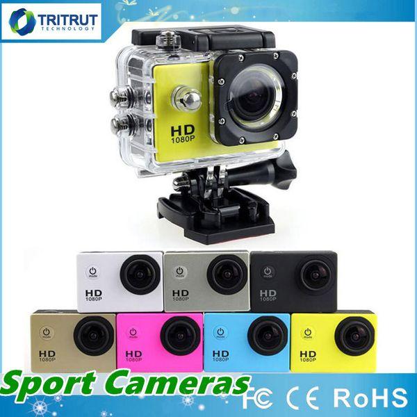 top popular SJ4000 Sports Camera SJ 4000 1080P 2 Inch LCD Full HD Under Waterproof 30M Sport DV Recording Dash Cam For Bicycle Skate Record MQ50 2021