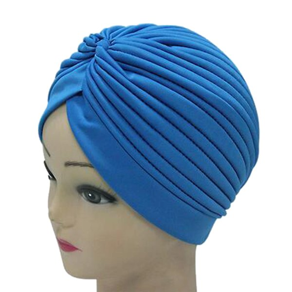 300PCS / LOT Hot Sale Indian Tuban Hat for Women 17 Colors Fashion Beanie Cap Lady Autumn Winter Hats