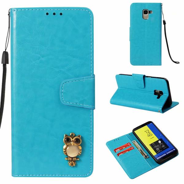 Leder pu magnetische retro eule flip brieftasche abdeckung für samsung galaxy s3 s4 s5 s6 s7 s8 s9 plus rand stehen telefon case