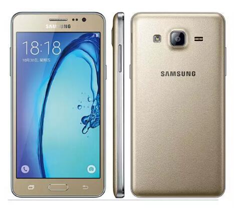 Reacondicionado Original Samsung Galaxy On5 G5500 4G LTE 5.0 pulgadas Dual SIM QuadCore 1.5GB RAM 8GB ROM 8MP Android Teléfono móvil