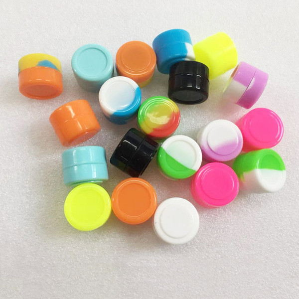 2ML Silicone Containers