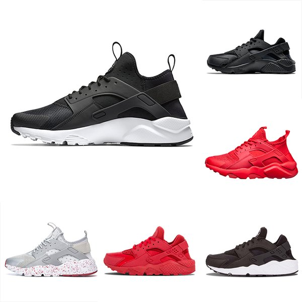 Nuevo Nike Air Huarache Ultra Zapatillas Hombre NegroBlanco