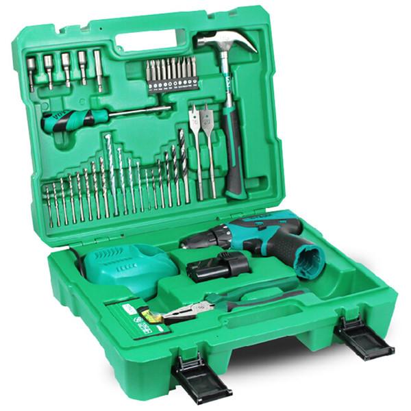 best selling LAOA LA415150 - U Portable Electric Drill Tool Set With Aluminum Mini Spirit Level 12V Electric Drill Portable Power Tools Set