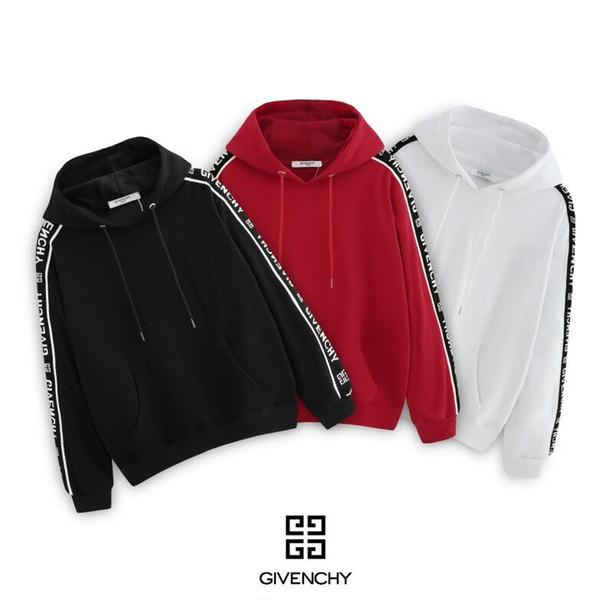 2019 Mais Novo Designer de Outono Inverno Mens Camisola clássica Moda Pullover Homens Marca Tripulação Pescoço Roupas de alta qualidade camisola dos homens