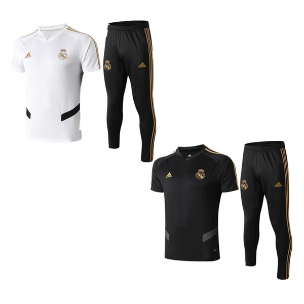 best selling best quality 19 20 Real Madrid Polo shirts 2019 jersey VINICIUS JR tracksuits ISCO MODRIC home away short sleeve training suits