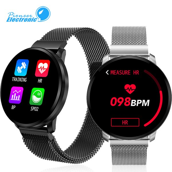 CF68 Waterproof Pulseira inteligente Banda Pulseira Relógio Bluetooth inteligente de carregamento rápido Rastreador dinâmico Heart Rate Música Controle TWS