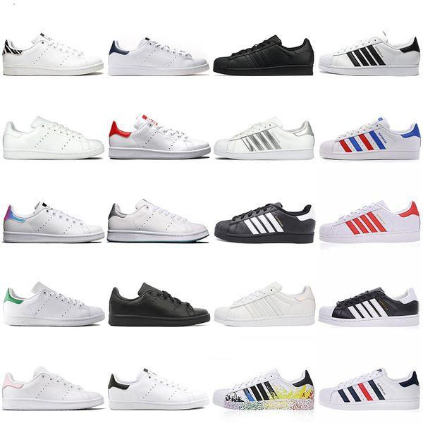 outdoors_sport / Adidas OFF WHITE Gucci dreifache schwarze weiße silberne rote beiläufige Schuhe Stan Shoes Fashion Smith beiläufige lederne Sport-Plattform-Turnsc