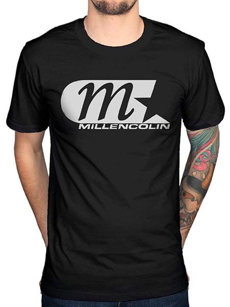 Millencolin Logo Yaz T Gömlek erkek Kısa Spor O-Boyun Kısa Kollu Rahat T-shirt Komik Tees Tops