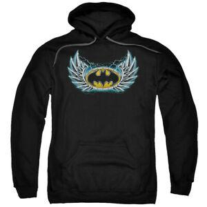 Men Steel Wings Logo Мужчины комиксы Лицензированный пуловер с капюшоном для взрослых