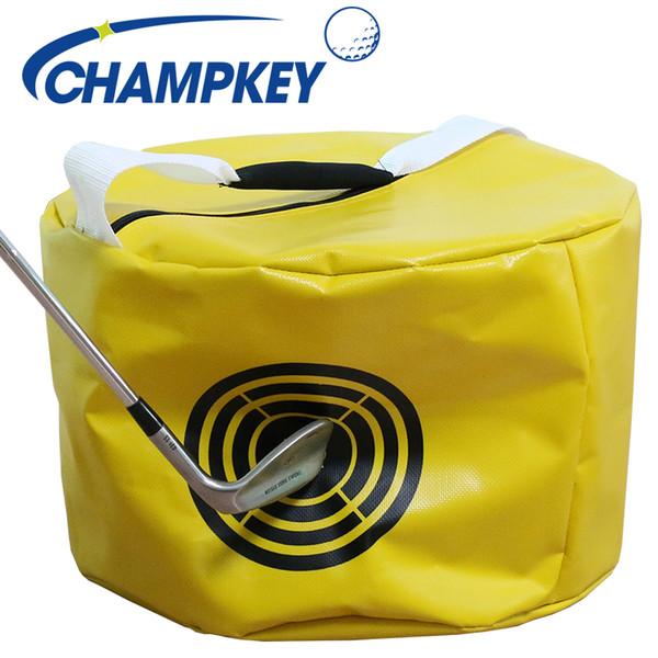 Wasserdichtes Gewebe mit hoher Dichte Golf Strike Bag Ergonomisches Design Power Impact Schaukelhilfe Smash Hit Trainer Golf Hitting Bag