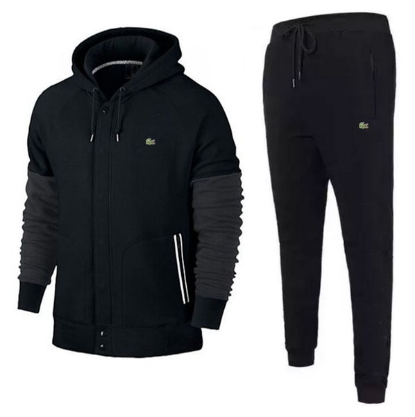 0dd48a950d8eb 2019 Design Tracksuit Men Sweat Suits Autumn Brands Mens Tracksuits Jogger  Suits Jacket + Pants Sets Sporting Suit Print Men'S From Qianduoduo868, ...