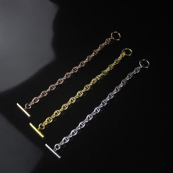 Donne Hollow Rose Gold Maiale Naso Braccialetto di design di lusso Bangle Tutti i fiammiferi Donna partito matrimonio bracciali gioielli