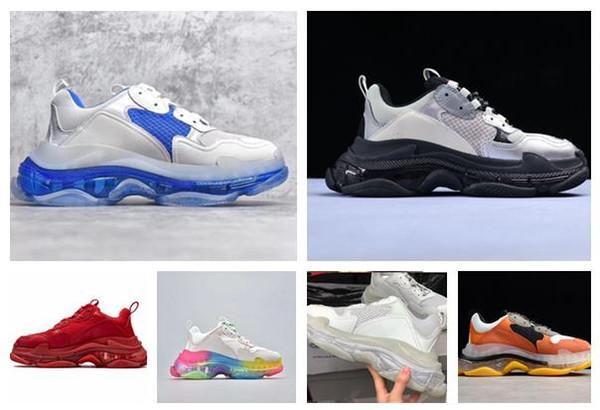 хорошее качество воздуха Кристалл cUS 5-11hion спортивная обувь кроссовки женская обувь мужская 7fw рубец-s кроссовки папа обувь рубец S США 5-11