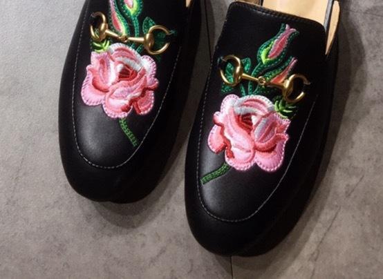 Black/Flower