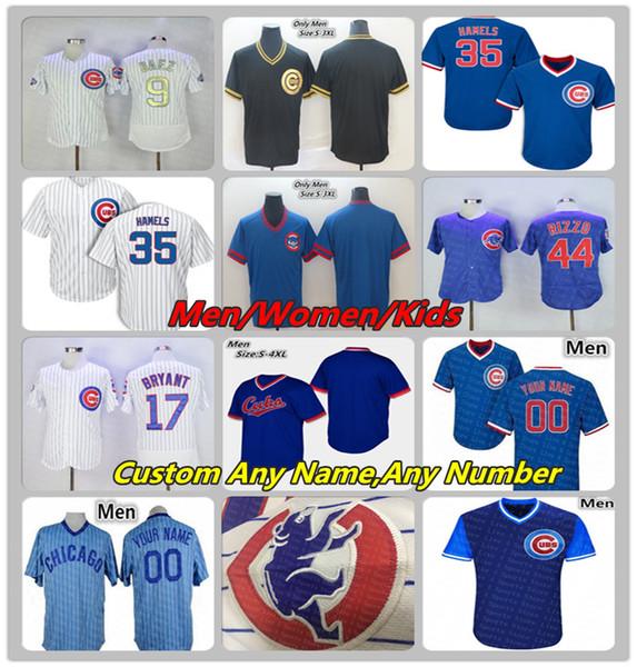best cheap 8a924 68363 2019 Chicago Custom Cubs Jersey Cole Hamels Jose Quintana Daniel Descalso  Ernie Banks Sandberg Happ Graveman Strop Zobrist Hendricks Lady Youth From  ...