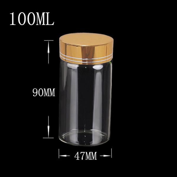 100ml-Gold Cap