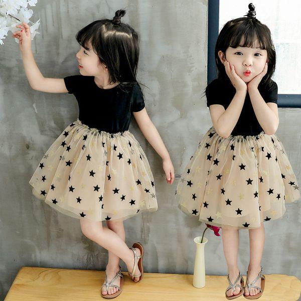 Crianças roupas de grife vestidos de meninas Glitter Ouro Selvagem Um Borlas Vestidos para Meninas Do Bebê Branco Franja Vestido Boutique Roupas Meninas