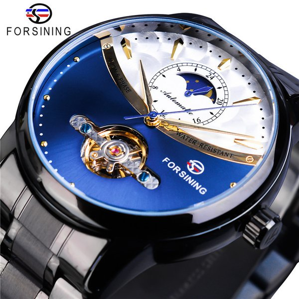 Man Leisure Time Low Hill Free Wheel More Function Fully Automatic Mechanics Wrist Watch