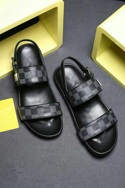 Erkek Kadın Sandalet Tasarımcı Ayakkabı Yüksek Kaliteli Slayt Yaz Moda Geniş Düz Kaygan Sandalet Terlik Flip Flop boyutu 38-46 çiçek kutusu