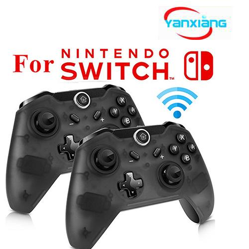 best selling 30pcs Bluetooth Wireless Game Controller Gamepad Joypad LEDs Remote Telescopic Controle Joystick for Nintendo Switch Console PC YX-switch01