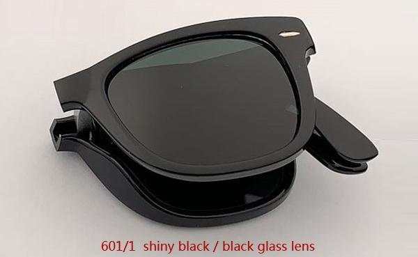 601/1 عدسة سوداء / سوداء لامعة