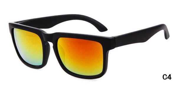 Marka Tasarımcısı Spied KEN BLOK Güneş Gözlüğü Helm 22 Renkler Moda erkekler Kare Çerçeve Brezilya Sıcak Işınları Erkek Sürüş Güneş Gözlükleri Shades Gözlük