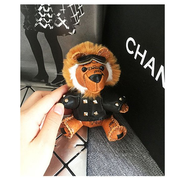 2019 Fashion New Brand little lion Keychain Keyring For Women Bag Car Key Chain Trinket Jewelry Gift Souvenirs