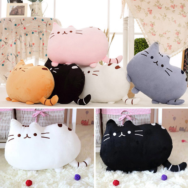 Kawaii Cats Peluche Cuscino Simpatico animale Catty Peluche Bambole giocattolo per bambini Home Decor DNJ998