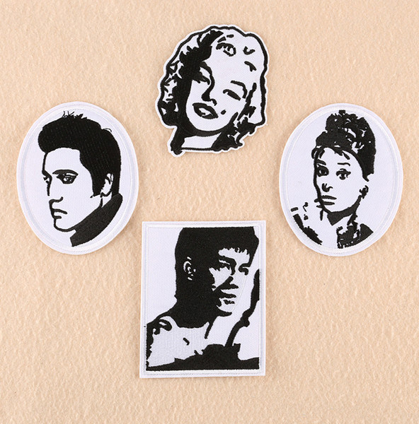 Elvis Embroidered Iron//Sew On Patch