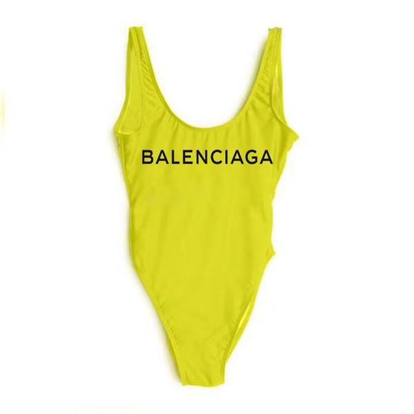 Hot 2019 marca de cintura alta maiô de uma peça swimsuit mulheres sexy maiô