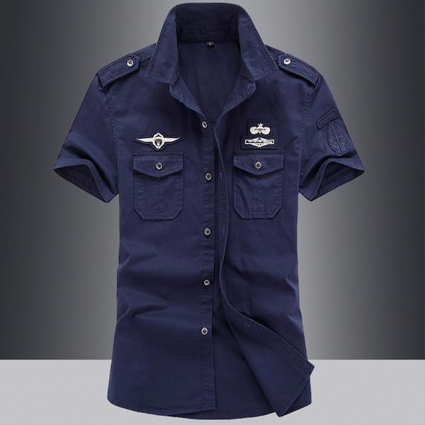 2019 vêtements de travail uniformes, chemise de lavage, homme à manches courtes, un dur à cuire