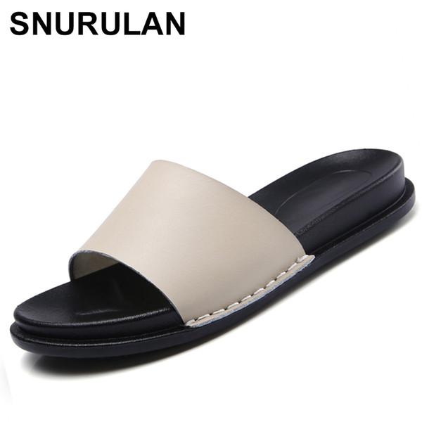 wholesale New Bohemia Summer Casual Women wedges Flat Sandals Platform Woman Ladies Beach Shoes Flip Flops Genuine leather shoes