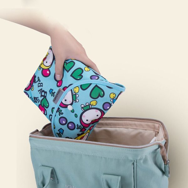 Baby Diaper Bags Waterproof Wet Cloth Diaper Backpack Maternity Bag Reusable Cover Dry Wet Bag for mom baby care