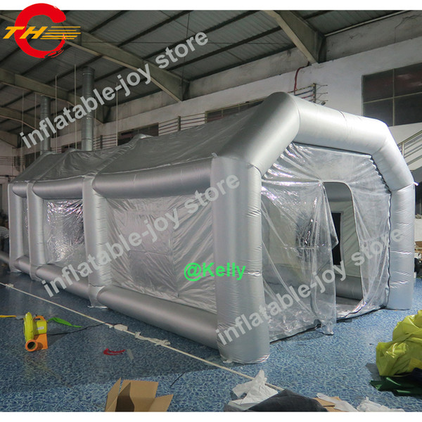 best selling outdoor giant inflatable spray booth for sale, inflatable mobile paint tents car painting inflatable paint booth free shipping to door