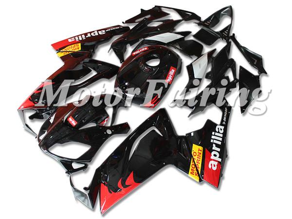 Новые ABS обтекатели тела для Aprilia RS4 RSV125 RS125 06-11 RS125R RS125 RSV 125 RS 2006 2007 125 2008 2009 2010 2011 обтекателя набор красный черный