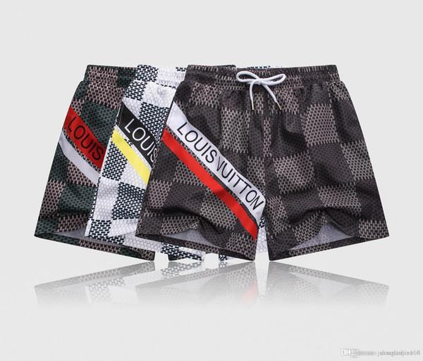 NEW FASHION Maillots de bain Hommes Bermudas Shorts Élasthanne Spandex Boardshorts Maillots De Bain Plus La Taille Pantalon De Surf Short De Bord Shorts Hommes Shorts Décontractés