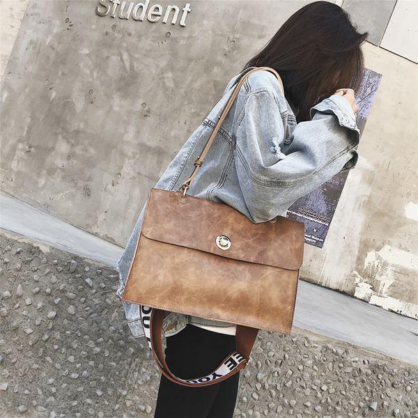 Fashion 2019 High Quality Women Handbag Large Capacity Tote Bag Pu Leather Shoulder Bag Crossbody Bags For Women Bag Sac A Main