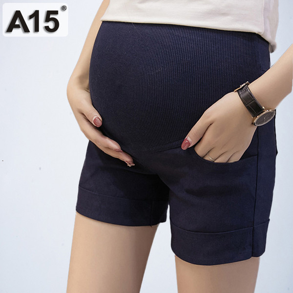 Maternity Pants for Pregnant Women Summer Pregnancy Clothes for Women Pregnant Trousers Gravida Shorts Belly Mother Nursing Wear