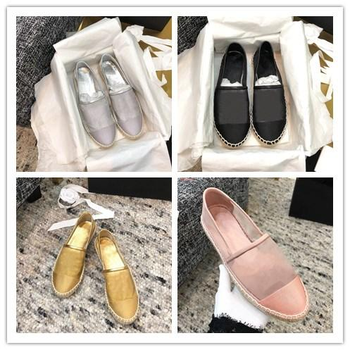 2019 Hot sale Summer lady espadrilles sexy girl lace platform canvas women Mesh Grosgrain Fashion loafers casual flat shoes