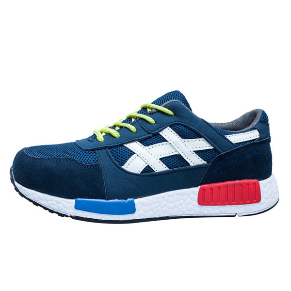 zapatos de seguridad azul