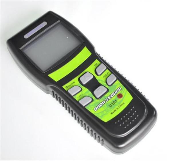 U381 OBD2 OBDII EOBD Auto Scanner LIVE DATA Code Reader Car Diagnostic Tool