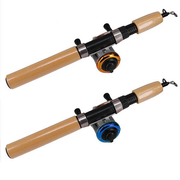 Fishing Rod Combo Mini EVA Rod with Spinning Reel & Fishing Line Gear Set