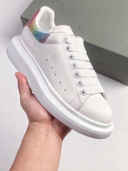 2018 Date Top Qualité MQueen Chaussures De Course smith pour Hommes Femmes De Luxe designers reine chaussures de sport baskets taille 35-43