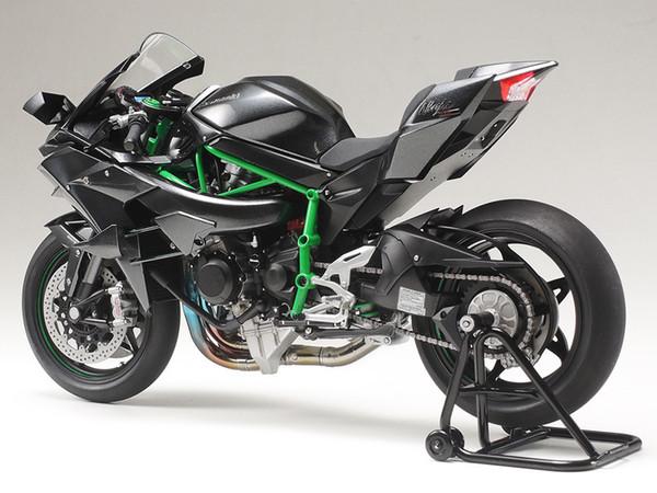 Tamiya Plastic Assembly Modell 1:12 Kawasaki Ninja H2R Motorrad Kit Spielzeug Sammlung Geschenk Freies Verschiffen